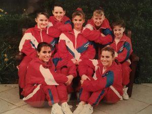 British Teams Silver 1991 gymnastics