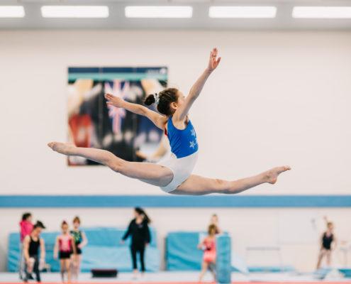 Mia Evans Compulsory Gymnast
