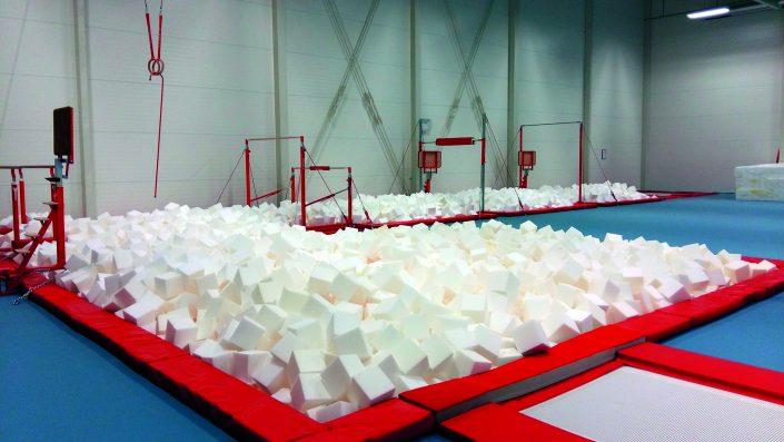Foam Filled Pit