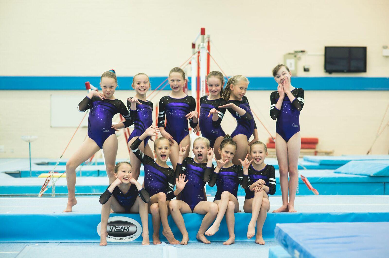 sports fitness and fun gymnastics meet