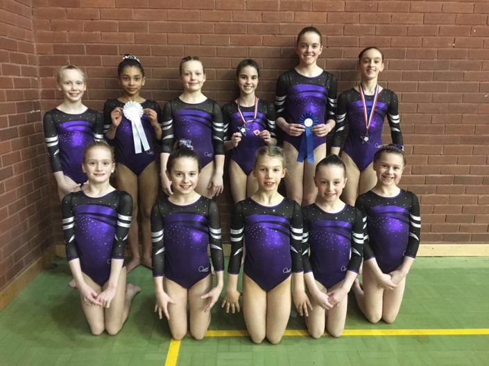 Park Wrekin Gymnasts compete at regional championships