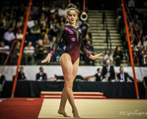 Alice Kinsella Gymnast