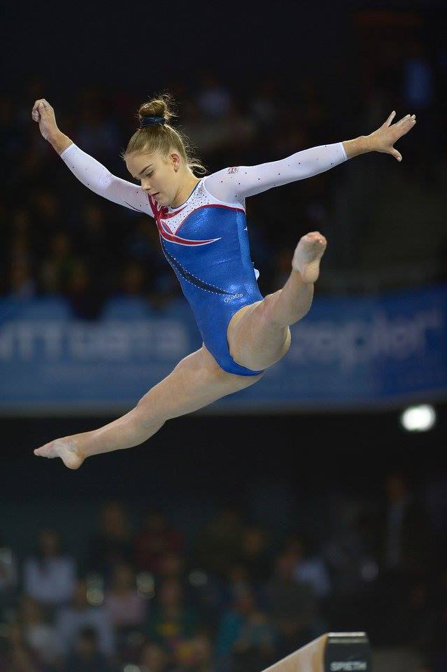 First Senior European Gymnastics Championships For Alice