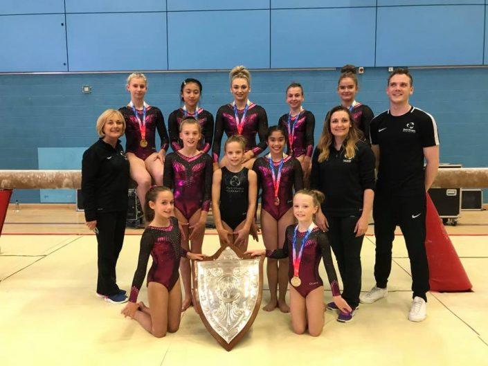 Park Wrekin Team Champions