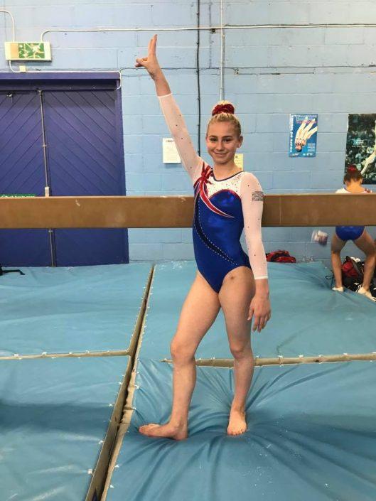 Ellesse Oates Senior GB Gymnast