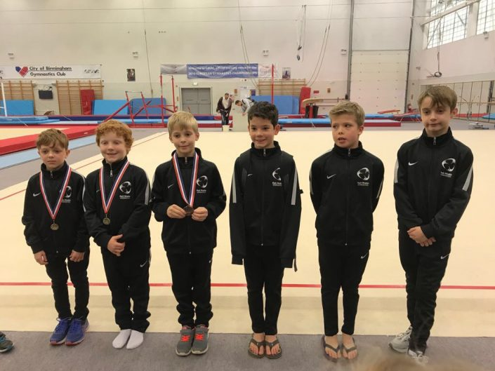 Park Wrekin Boys Team