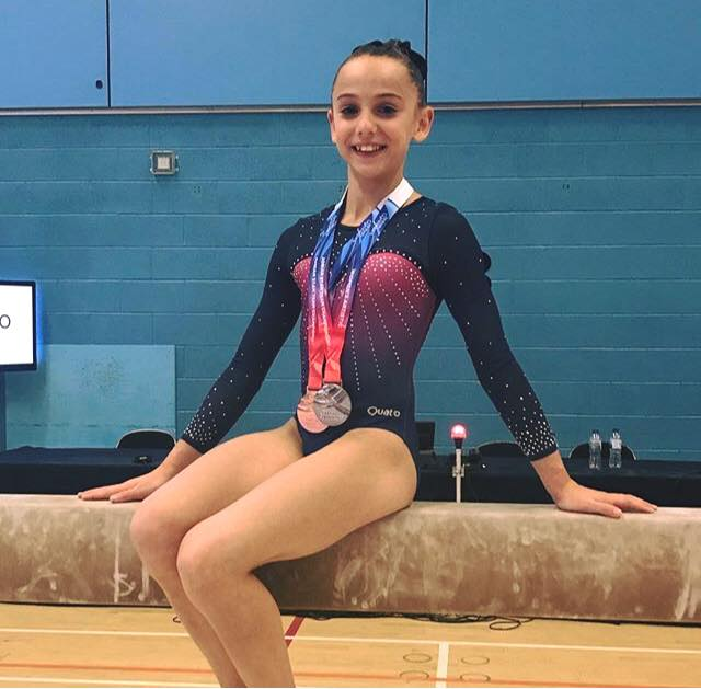 Mia Evans Gymnast